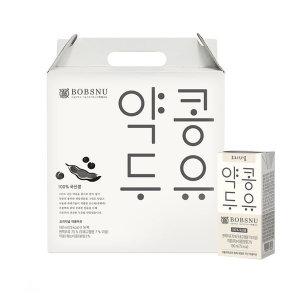 [밥스누] 서울대 약콩두유 190ml 32팩 (16팩 2세트) 무첨가두유