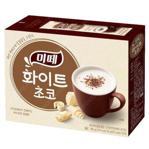 미떼 화이트 핫초코 10T/핫쵸코 코코아 카카오가루