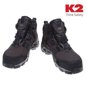 K2-86 다이얼 기모 방한 안전화/겨울 작업화