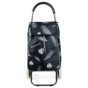 [포스아트] 쇼핑카트 방수코팅 접이식 핸드카트 시장 장바구니