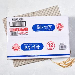 [오뚜기밥] 오뚜기 맛있는밥(210G 12입)