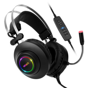 [해커] N550 ENC 가상 7.1 RGB 게이밍헤드셋 ㅡ우체국발송ㅡK