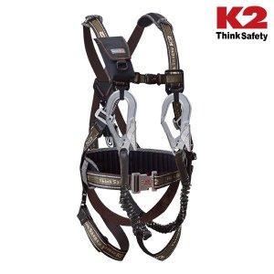[케이투] K2 세이프티 Y전체식 안전벨트 KB-9301 산업용 안전벨트