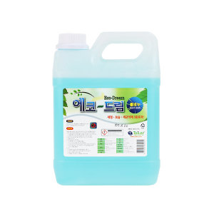 블루엠/에코드림 물비누(4리터)/손세정제/액채형타입/