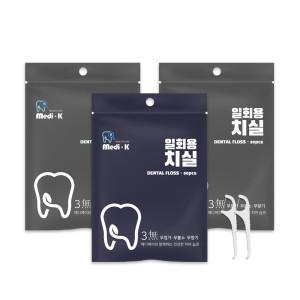 메디케이 성인 치실 80px 3 총 240p / 국내생산
