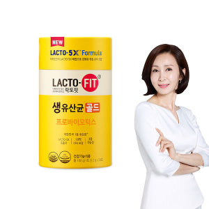 [종근당] 락토핏 생유산균 골드 1통 (50일분)
