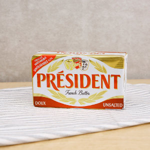 [프레지덩] 냉장 프레지덩 무가염 버터 400g