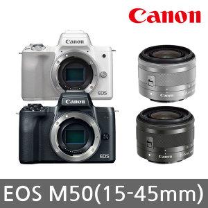 [캐논] 캐논 정품 EOS M50 (15~45mm) + 64G + 32G 패키지