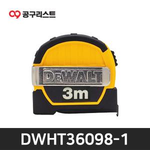 디월트 DWHT36098-1 3M 미니 줄자