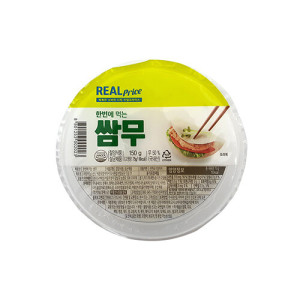 [리얼프라이스] 리얼 한번에 먹는 쌈무 150g