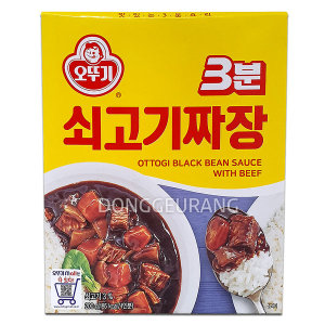 [3분요리] 오뚜기 3분 쇠고기짜장 200g /3분요리/3분짜장/짜장