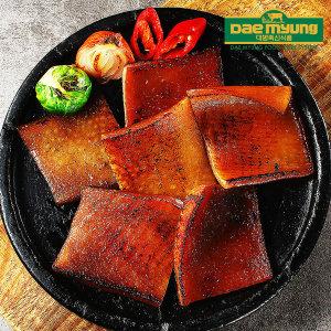 양념 돼지껍데기 500g(국내산 껍데기)