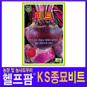 헬프팜 비트 200립 비트씨 씨앗 종자 KS종묘