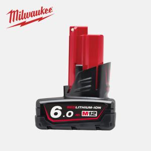 밀워키 M12 B6  배터리 12V  6.0Ah