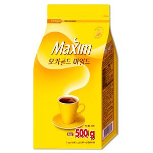 [맥심] 맥심 모카골드 커피 500g /리필 :