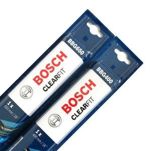 [보쉬] 보쉬 클리어핏 와이퍼 V4 자동차와이퍼 2개 1세트