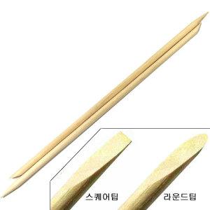 [텐투유] T2U 네일 오렌지 우드스틱 15cm 10개 /큐티클푸셔밀대