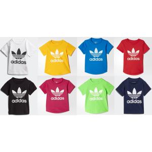 [아디다스키즈] (대구신세계) adidas kids   인펀트 트레포일 티셔츠 8종 택일
