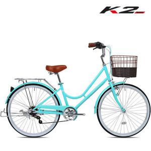 [케이투바이크] 2020 K2BIKE 클래식 여성용자전거 루비26인치 7단