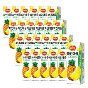 [롯데칠성] 델몬트 파인애플 드링크 190ml 24팩 2박스 (총 48팩)