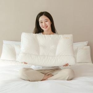 수면공감  우유베개 라텍스 기능성 경추 베개 (1EA)