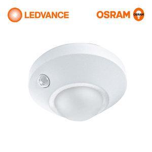 [오스람] 나이트룩스 실링 원형 무선 LED센서등 동작감지 현관등