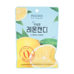 피코크 무설탕 레몬 캔디 40g