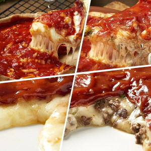 시카고  리얼 치즈피자 3판 + 불고기피자 3판