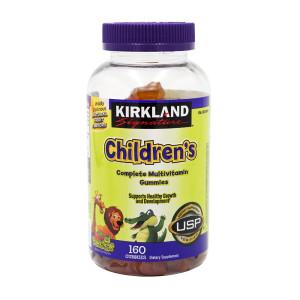 [커클랜드] Kirkland 칠드런 어린이 컴플리트 멀티 종합 비타민 구미 160 구미