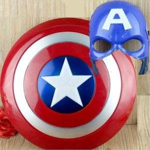 해외캡틴 아메리카 불빛 방패 헬맷