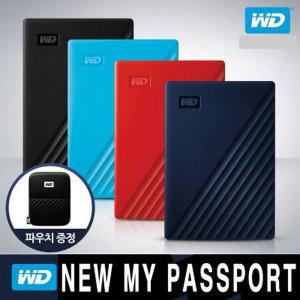 [웨스턴디지털] WD공식 NEW MY PASSPORT 외장하드 4TB (블랙) yj
