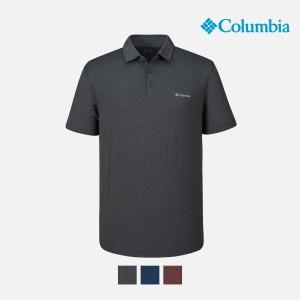 [컬럼비아] 컬럼비아  남여 기능성 반팔 폴로 카라 티셔츠 AE2933