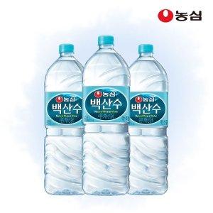 [백산수] 갤러리아  농심 백산수 2L 24병 생수