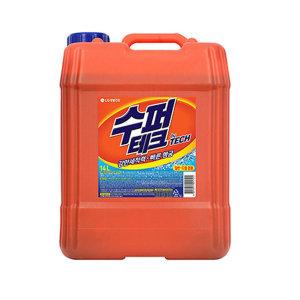 [테크액체세제] 수퍼테크 액체세제 14L