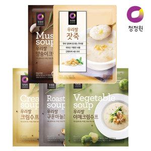 [청정원] 청정원 우리쌀 스프/죽 골라담기