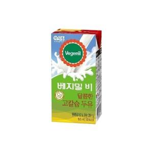 [베지밀] 베지밀 B(비) 달콤한 고칼슘 두유 190mlx96팩