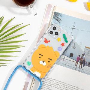 갤럭시S9 정품 카카오 리틀 헬로우썸머 비치 목걸이