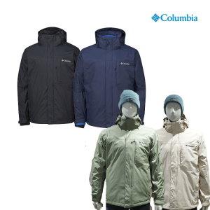 [컬럼비아] 컬럼비아  남성 옴니테크 3in1 인터체인지 방수 자켓 WE1322