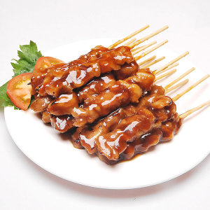 [비비수산] 숯불 바베큐맛 닭꼬치 순한맛 20g(40개 800g)