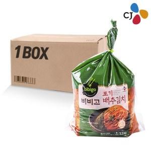 (냉장B)CJ 비비고 포기배추김치 3.3kg(2개)