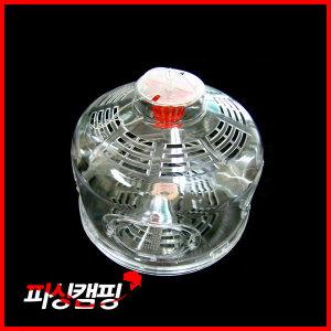 피싱캠핑  플라스틱 4구 어항 (자립형/어포기)