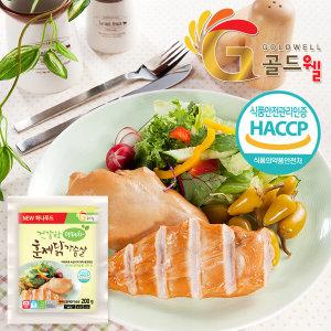 국내산 마테차숙성 훈제닭가슴살 3kg (200gX15팩)