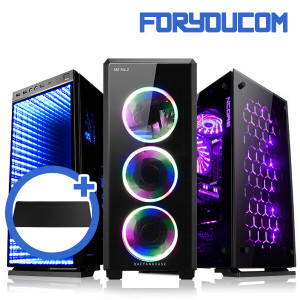 [포유컴] 초고속PC/인텔G5400/4G/SSD128G/조립컴퓨터본체PC