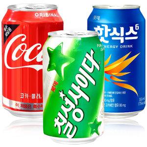 코카 콜라 355mlx24캔 음료수 캔음료 뚱캔 스프라이트