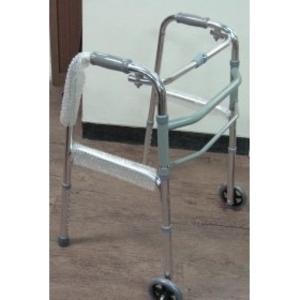 의료용 바퀴워커 원터치스틸 구동형