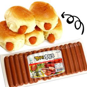 삼두 켄터키 후랑크 소세지 1kg /대림/핫바/소시지