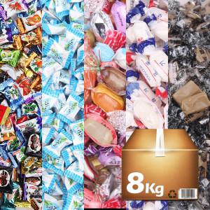 업소용/대용량 디저트 캔디 사탕 8kg 약 2000개입