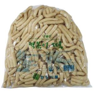 밀떡볶이 80MM 3.75kg /쌀떡볶이 가래떡 치즈떡 순대