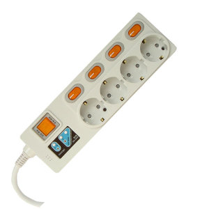 전자파 차단 멀티탭 / 비접지콘센트를 접지콘센트로