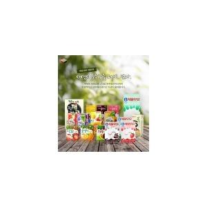 [서울우유] 서울 멸균흰 초코 딸기 200ml x 24팩